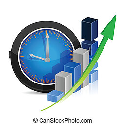 time for great profits. economy concept
