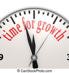 Time for growth clock