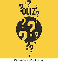 Time for questions and answers. - Quiz background. The ...