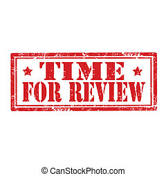 Time For Review-stamp