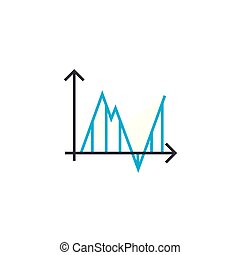 Time frame analysis vector thin line stroke icon. Time frame analysis outline illustration, linear sign, symbol concept.