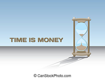 Time is money - concept