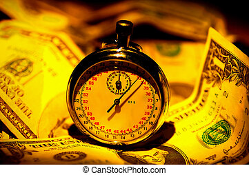 Time is Money - Stopwatch and Money