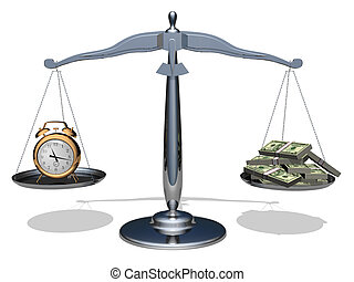 Time is money - The relationship between time and money. ...