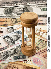 Time is World Money.
