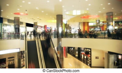 Time Laps, shopping mall