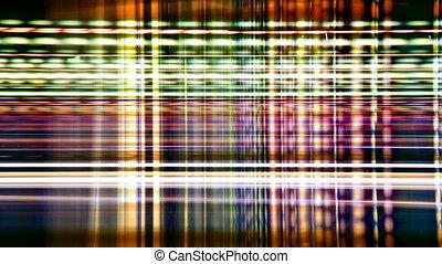 time-lapse, сделал, выстрел, шаблон, абстрактные, место действия, улица, трафик, ночь