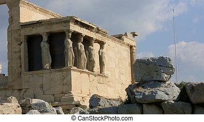 time lapse Ancient Acropolis