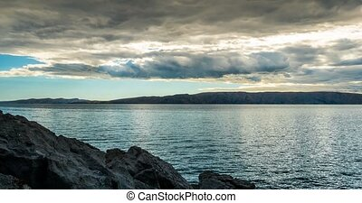 Time Lapse - Bad Weather Clouds Over Croatia
