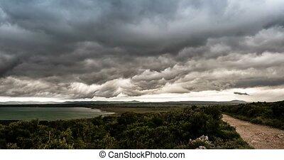 Time Lapse - Bad Weather Over Croatia