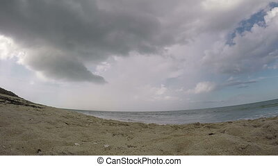 Time lapse beach Florida five