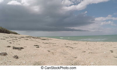Time lapse beach Florida four - HD time lapse beach Florida...