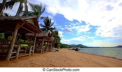 Time lapse beautiful sea view on Koh Samui 1920x1080