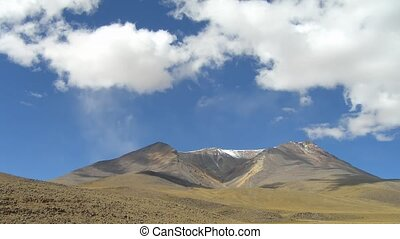 Time lapse Bolivia - Time Lapse Movie Clouds over south-west...