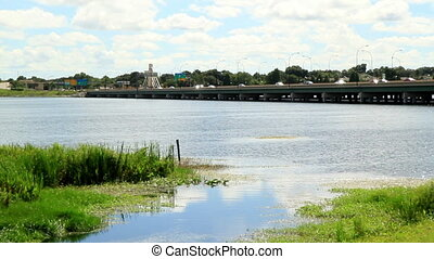 Time Lapse bridge 408 Orlando FL