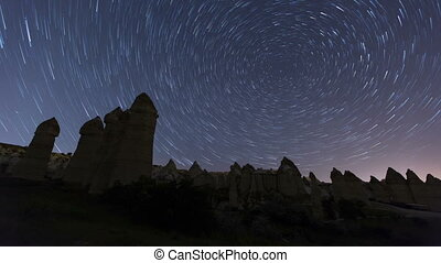 time lapse Cappadocia