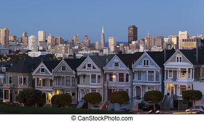 Time lapse close up Painted Ladies