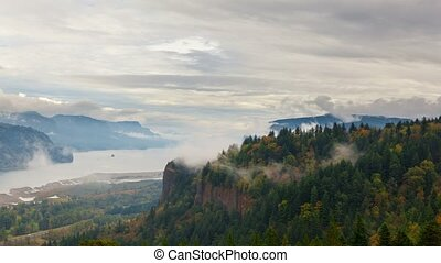 Time Lapse Columbia River Gorge 4k