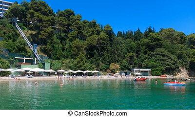 Time lapse: Corfu beach