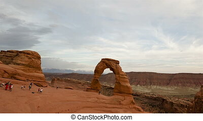Time lapse Delicate Arch Utah - Time lapse of Utah's famous...