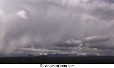 Time Lapse Desert Storm