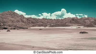 Time Lapse, Desierto Del Diablo, Argentina (post-apocalyptic...