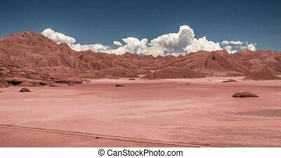 Time Lapse, Desierto Del Diablo, Argentina - There are...
