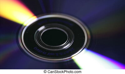 Time Lapse DVD / CD - Time lapse movie of light reflecting...
