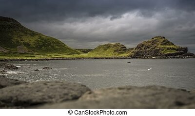Time Lapse - Giant Causeway Head, Northern Ireland