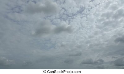 Time Lapse High Definition Cloudy Sky - High definition time...