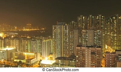 Time lapse Hong Kong Panorama - Time lapse Hong Kong Mong...