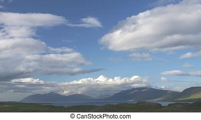 Time lapse Iceland landscape