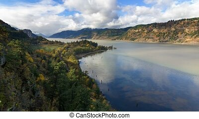 Time Lapse in Columbia River Gorge