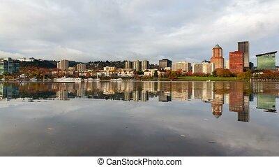 Time Lapse in Portland Oregon