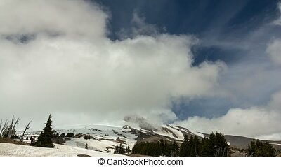 Time lapse in Timberline lodge OR