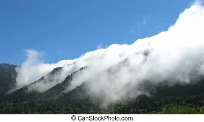 Time lapse La Palma - Time lapse trade winds over La Palma,...