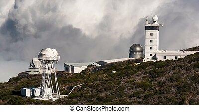Time Lapse, La Palma Observatory - 4k Time Lapse, La Palma,...