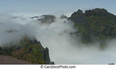 Time lapse Madeira Pico do Ariero - Time lapse Madeira:...