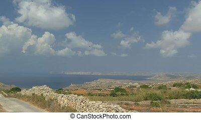 Time lapse Malta Island