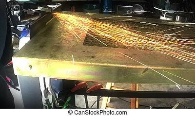 Time Lapse Metal Grinding