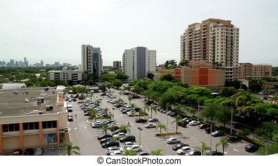 Time Lapse Miami Fl City Scape