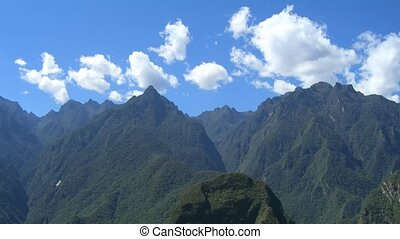 Time Lapse Movie Peru Mountains