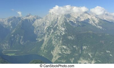 Time lapse Mt. Watzmann