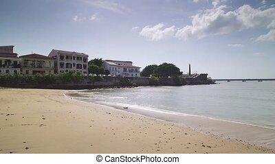 Time Lapse ocean tide Panama