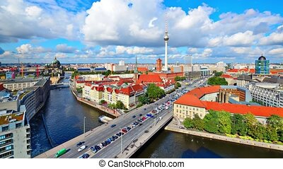 Berlin, Germany - Time lapse of Berlin, Germany