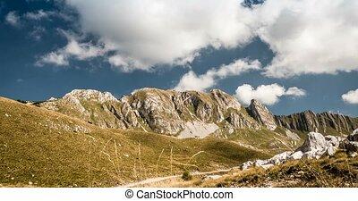 Time Lapse Of Bobotov Kuk Mountain Range, Montenegro