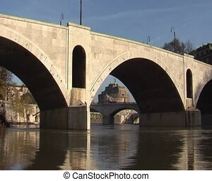 Time lapse of bridge