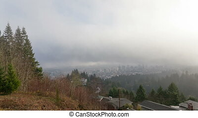 Time Lapse of Clouds and Fog 1080p