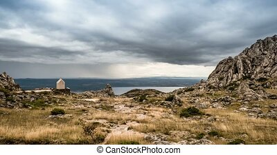 Time Lapse Of Mali Alan Trail - Croatia