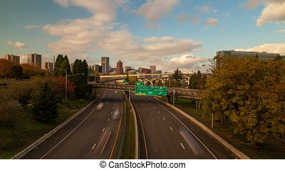 Time Lapse of Rush Hour Traffic - Time Lapse Movie of Rush...